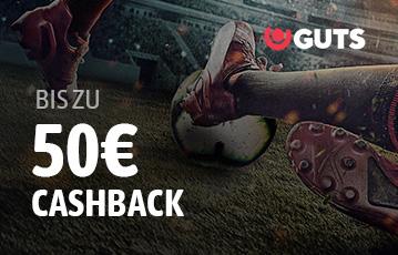 Der beste Online Sportbonus guts close-up Fussball Spiel Beine 50 Euro Cashback