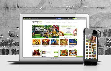 Die besten Online Spiele Casino mobil Laptop und smartphone screen Spieleauswahl