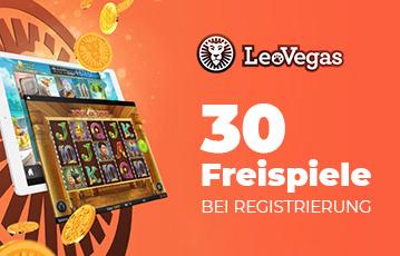 Die besten Online Casino Spiele freespins 30 Freispiele leovegas scrrenshot Automatenspiel Münzen
