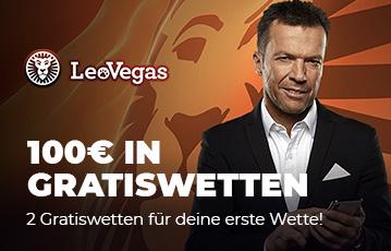 Der beste Online Sportwetten Bonus 100 Euro Graitswetten bei leovegas Close-up Oliver Kahn mit smartphone in der Hand