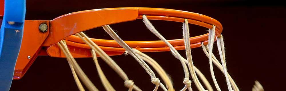 Die besten Online Sportwetten Close-up Basketballkorb