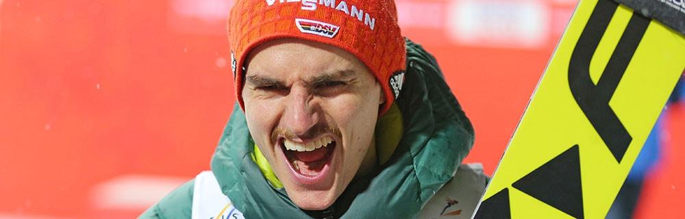Die besten Online Sportwetten close up deutscher Sportler jubeld Olympia