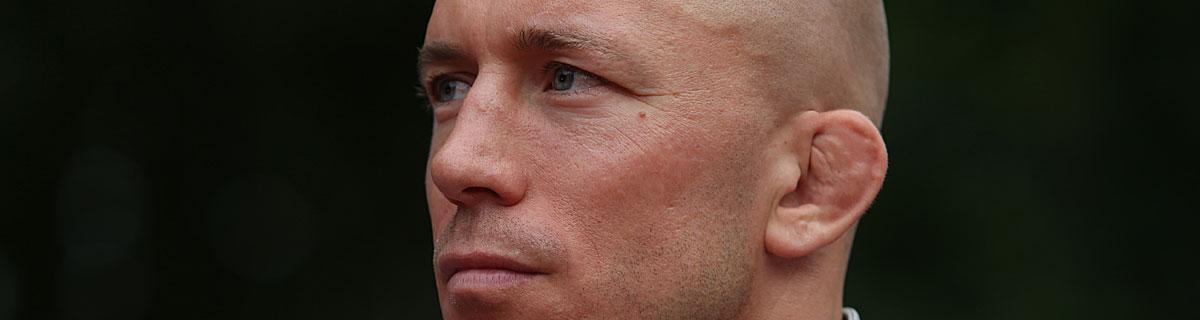 Die besten Online Sportwetten Close-up Gesicht UFC Kämpfer