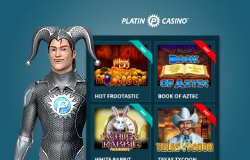Die besten Online Casino Spiele der beste Casino Bonus Platin Casino Illustration Spielefigur Spieleauswahl