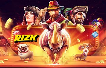 Die besten Online Casino Spiele rizk Illustration Spielefiguren Cowboys Nashorn Hunde Pirat