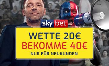 Skybet.de - Jetzt Bonus sichern!