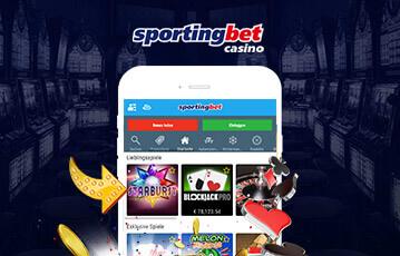 Die besten Online Casino Spiele sportingbet smartphone screen Spieleauswahl
