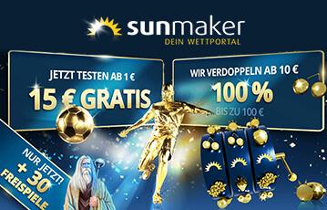 Der beste Online Sportwetten Bonus 15 Euro gratis Freispiele Fussball Statue gold Fussball gold Walze blau gold