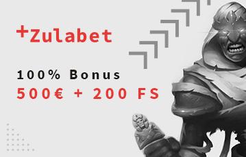 Die besten Online Casino Spiele der beste Casino Bonus Illustration Spielefigur call to action 100 Prozent Bonus 500 Euro