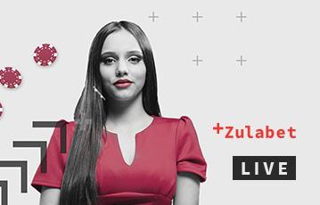 Die besten Online Casino Spiele bei zulabet Live Frau mit langen Haaren rotes Kleid Pokerchips