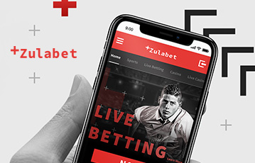 Die besten Online Casino Spiele bei zulabet mobil App smartphone in Hand screen zulabet live Betting