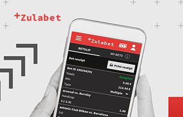 Die besten Online Casino Spiele bei zulabet mobil App smartphone in Hand screen zulabet Übersicht