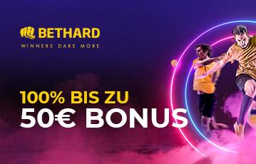 Die besten Online Sportwetten bei bethard bis zu 50 Euro Bonus Fussballspieler Tennisspieler
