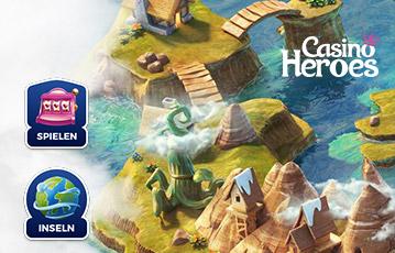 Die besten Online Casino Spiele bei casino heroes Spielwelt Landkarte
