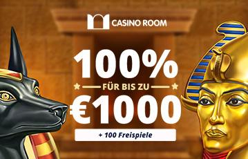Die besten Online Casino Spiele bei casino room bester Bonus bis zu 1000 Euro plus Freispiele Illustration ägyptische Charaktere