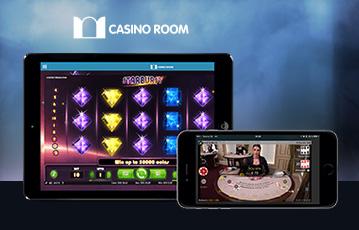 Die besten Online Casino Spiele bei casino room mobile App smartphone und laptop screen live Spiele