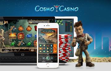 Die besten Online Casino Spiele bei Cosmo Casino smartphone laptop tablet Spiele-Charakter Pokerchips