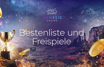 Die besten Online Casinos bei genesis casino call to action Bastenliste und Freispiele goldener Pokal goldene Münzen Natur Feuer Wasser Grand Canyon