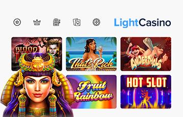 Die besten Online Casinos bei light casino Auswahl Spiele Spiele-Charakter