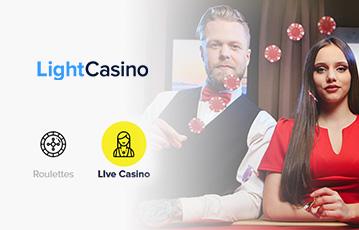 Die besten Online Casinos bei light casino libe Spiele Groupier und Spielerin am Pokertisch Pokertisch