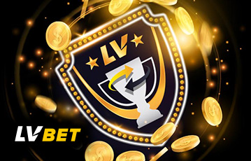 Die besten Online Casinos bei lvbet Illustration Pokal Logo Münzen