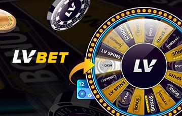 Die besten Online Casinos bei lvbet Illustration Pokerchips Glücksrad casino wheel