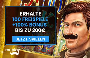 Die besten Online Casinos bei mr. play call to action free spins Freispiele Illustration Spiele-Charakter
