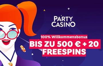 Die besten Online Casino Spiele bei party casino call to action Illustration Frau mit Brille