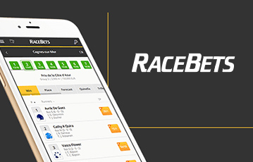 Die besten Online Sportwetten bei racebets smartphone screen Wetten Übersicht