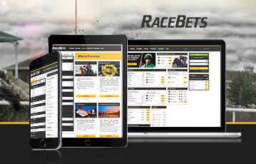 Die besten Online Sportwetten bei racebets laptop tablet smartphone screens mobil