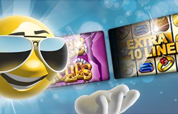 Die besten Online Casino Spiele bei sunnyplayer 3D smiley mit Sonnenbrille