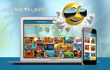 Die besten Online Casino Spiele bei sunnyplayer 3D smiley mit Sonnenbrille laptop smartphone
