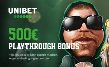 Unibet - Jetzt Bonus sichern