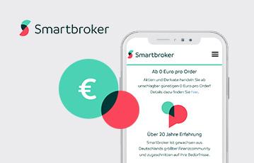 smartbroker mobile app smartphone webseite