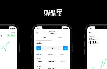 drei smartphones webseite mobil trade republic