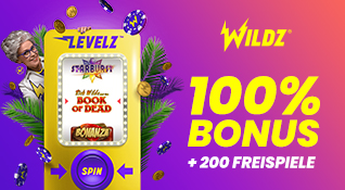 wildz bonus code