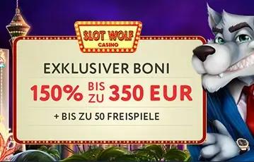 Slotwolf Bonus Code