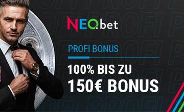 NEO.bet - Jetzt Bonus sichern!